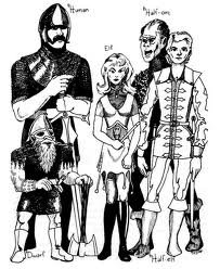 D&D original races
