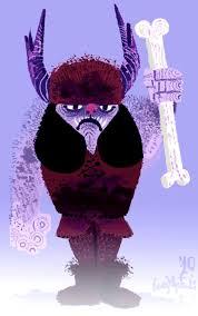 purple barbarian