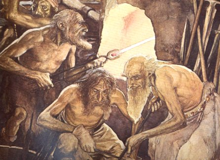 Dwarves by Brian Froud and Alan Lee