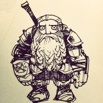 dwarf by Kyle Ferrin